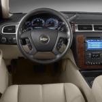 Interior de la Chevrolet Tahoe 2013