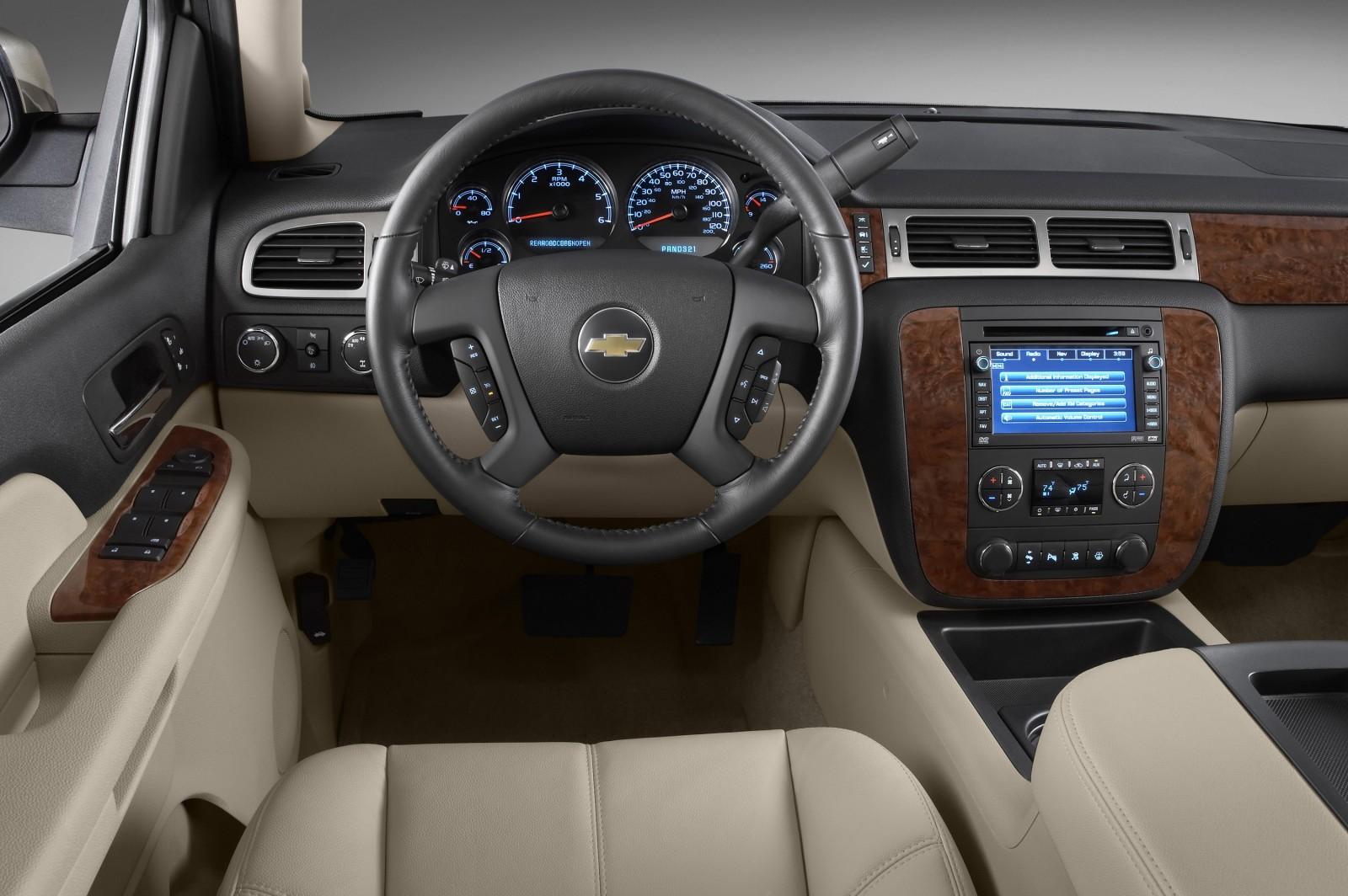 Chevrolet Tahoe 2013 Una Suv Grande C Moda Y Llamativa Lista De Carros