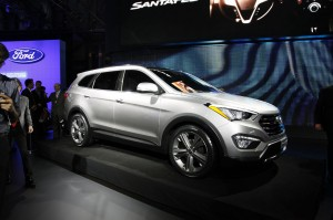 Hyundai Santa Fe 2013: nueva imagen, mas espacio y más tecnología