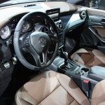 Interior del Mercedes Benz CLA 2013
