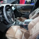 Imágenes del interior del Mercedes Benz CLA 2013