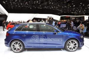 Ginebra 2013: Audi A3 Sportback g-Tron, para circular con gasolina, gas ó con e-gas