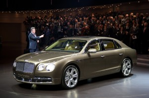Salón de Ginebra  2013: Bentley Flying Spur 2013, un sedán de ultra lujo