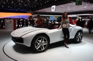 Salón de Ginebra 2013: Italdesign Giugiaro Parcour Roadster Concept