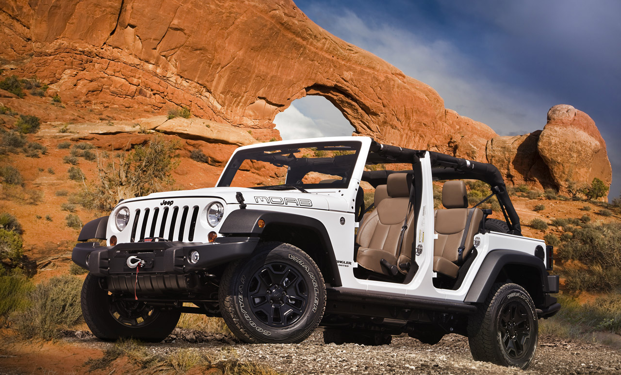 Jeep Wrangler Unlimited Moab 2013: Es el ideal para los fanáticos que