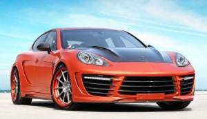 Porsche Panamera Stingray GTR Orange: diseño más poderoso