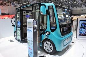 Salón de Ginebra 2013: Rinspeed microMAX Concept, un híbrido entre turismo y minibús.