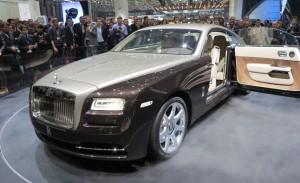 Salón de Ginebra 2013: Rolls-Royce Wraith, el más potente de la historia.