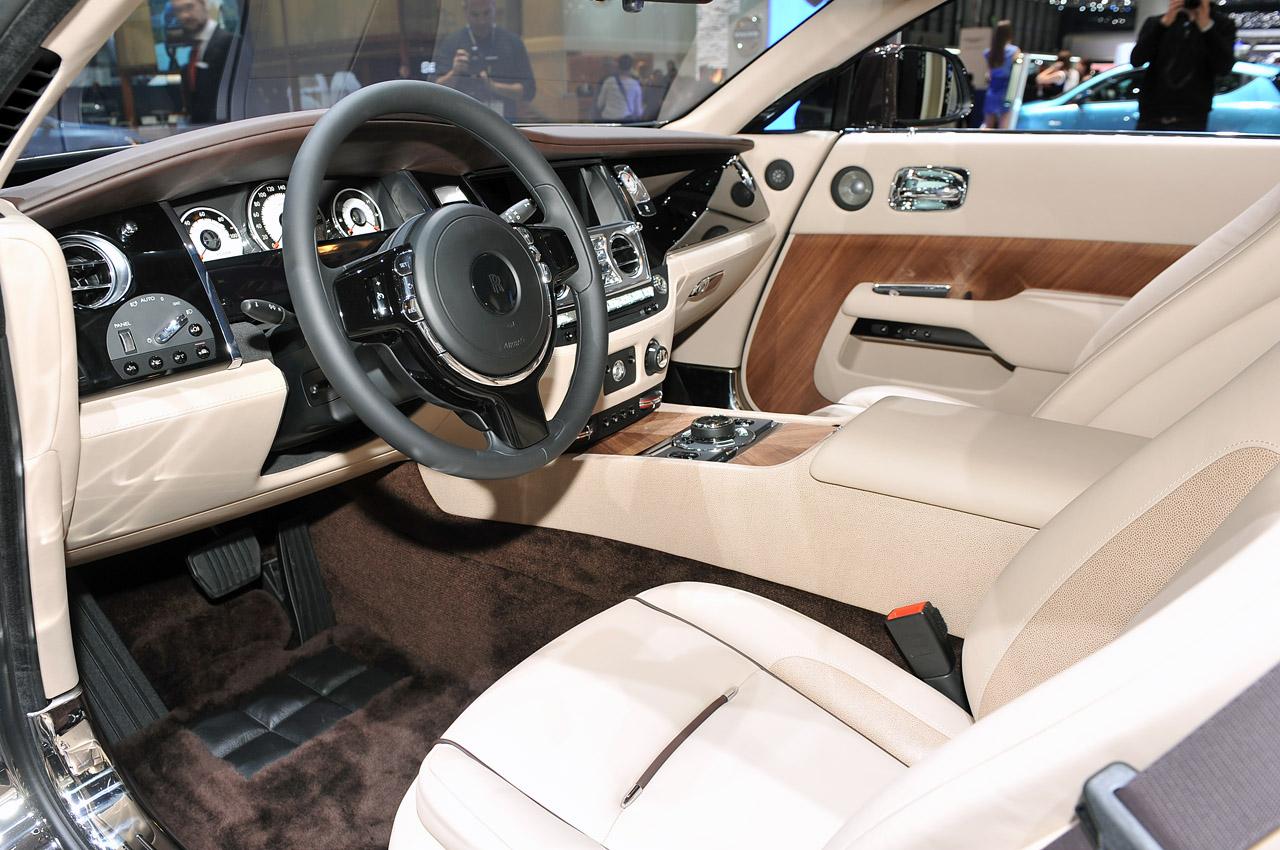 Salon De Ginebra 2013 Rolls Royce Wraith El Mas Potente De La