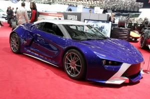 Salón de Ginebra 2013: Sbarro Réact EV Concept, un deportivo hibrido ideado por estudiantes