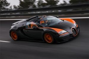 Bugatti Veyron 16.4 Grand Sport Vitesse: el Roadster más rápido del mundo
