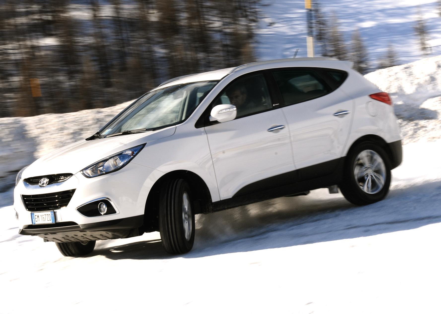 Hyundai Tucson ix35 2013: cómoda, espaciosa y atractiva.
