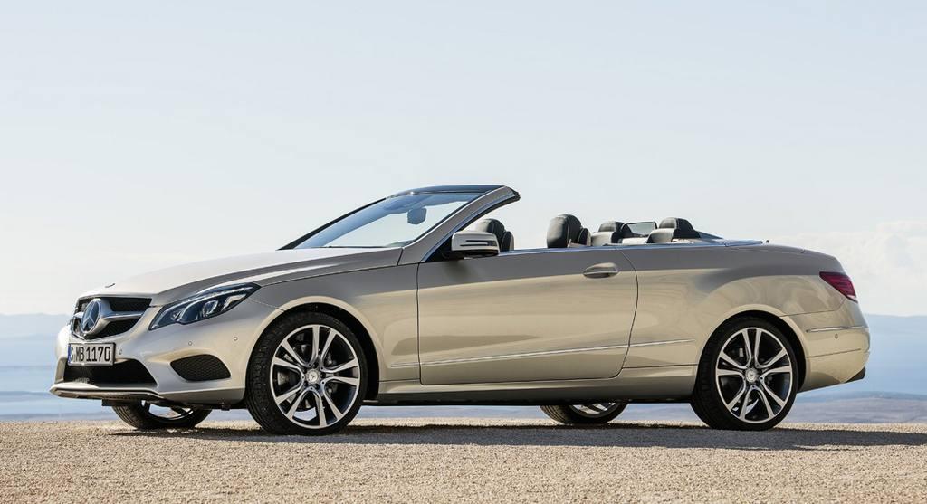 Mercedes-Benz Clase E Cabriolet 2013: Para EEUU tiene un precio de 59