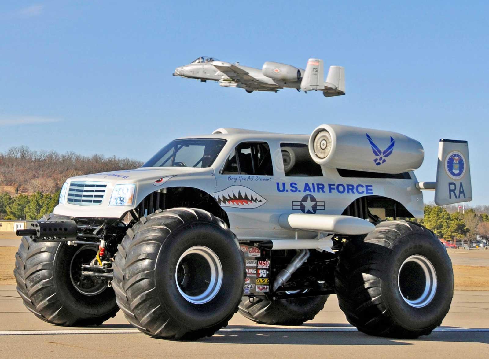 Air Force Monster Truck