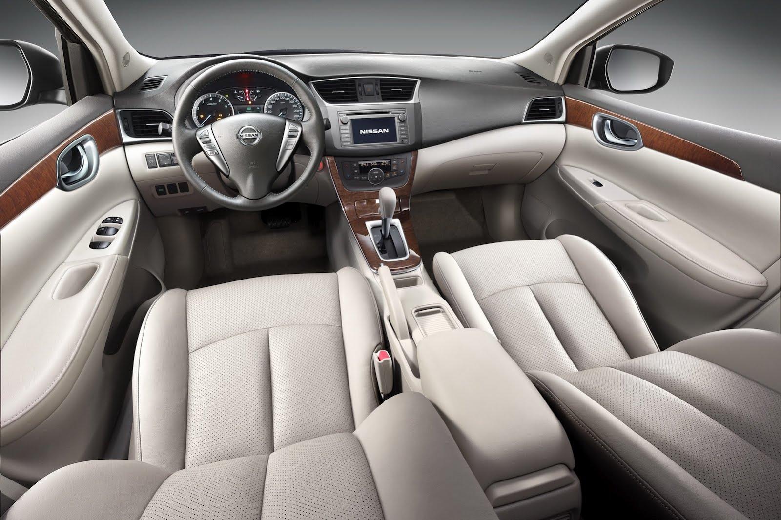 Imágenes del interior del Nissan Sentra 2013 | Lista de Carros