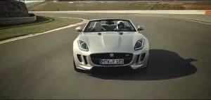Jaguar F-TYpe en el Circuito de Navarra