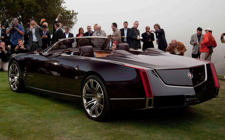 Cadillac ciel concept un enorme y bello descapotable