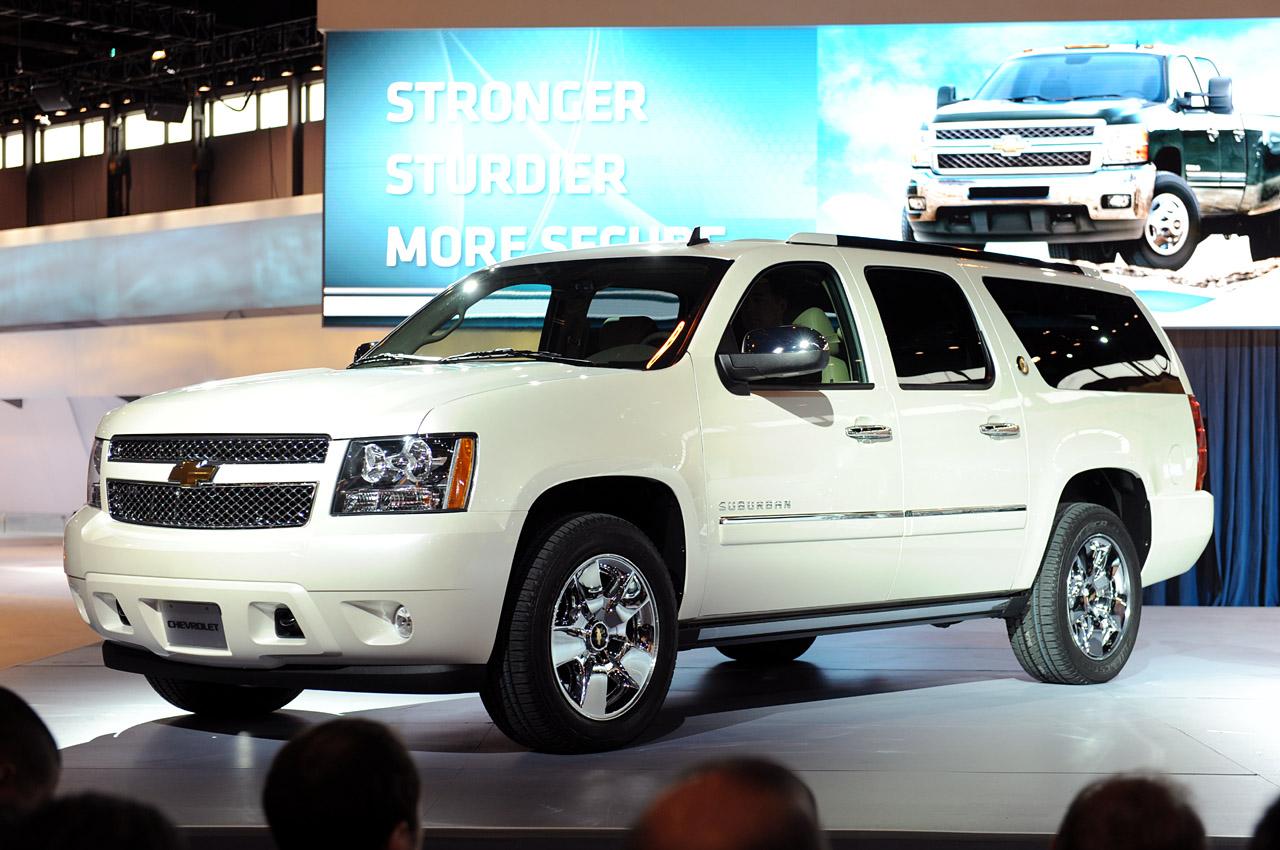 Chevrolet Suburban 2013: prestaciones, capacidades, lujo y presencia