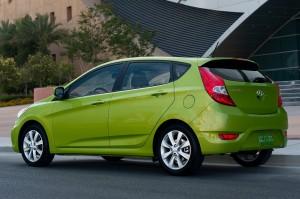 Hyundai Accent Hatchback 2013: Diseño con un ligero aire deportivo