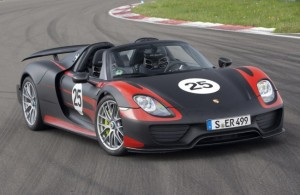 Porsche 918 Spyder: híbrido, potente, rápido y lujoso.