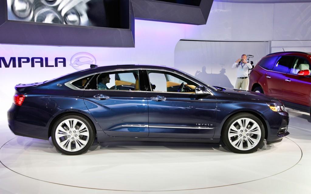 chevrolet impala 2013 rendimiento refinamiento y eficiencia lista de carros. Black Bedroom Furniture Sets. Home Design Ideas