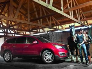 Chevrolet Traverse 2013: atractiva, fresca y elegante.