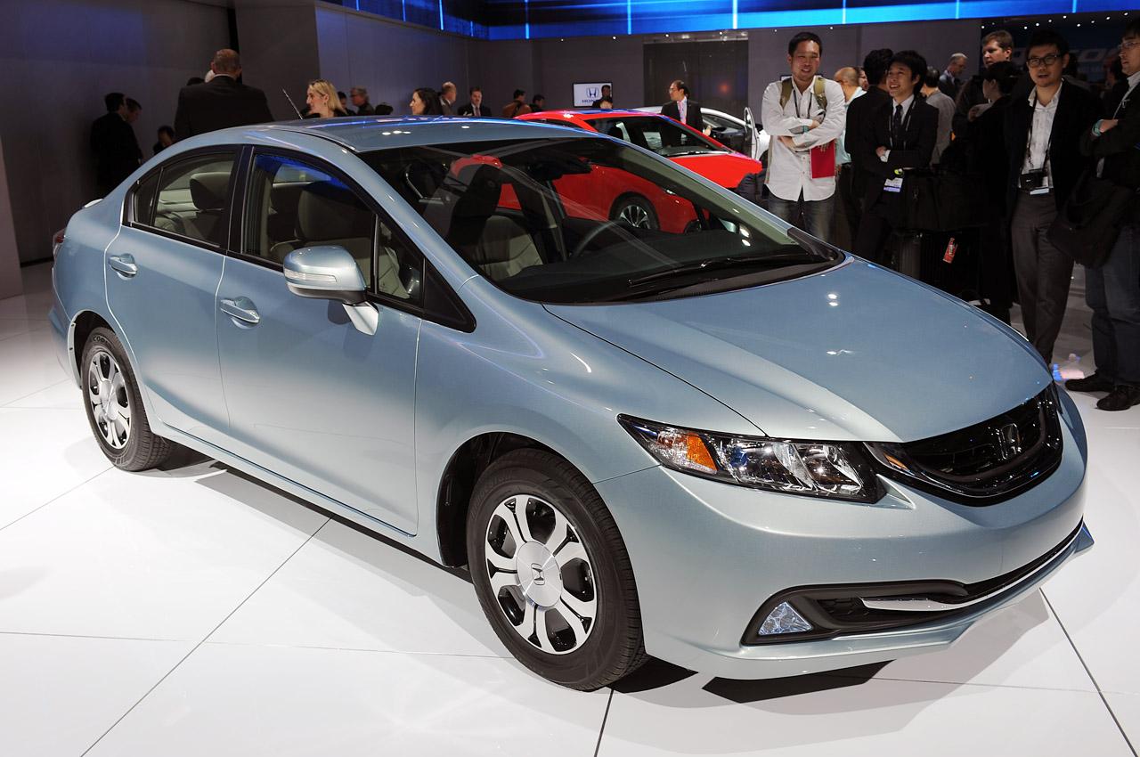 Honda Civic Hybrid 2013 Es Un Carro Lujo De De Cuatro