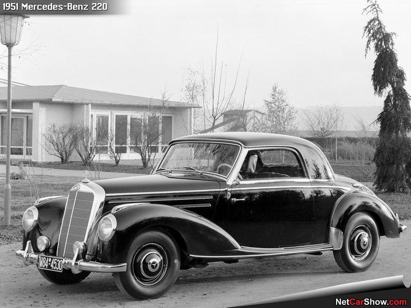 Carros cl sicos y antiguos mercedes benz 220 1951 lista for Mercedes benz 220s