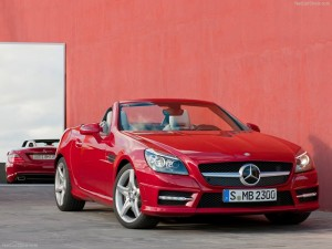 Mercedes Benz Clase SLK 2013: poderoso y atractivo