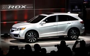 Acura RDX 2013: completamente nueva, mejor y más potente.