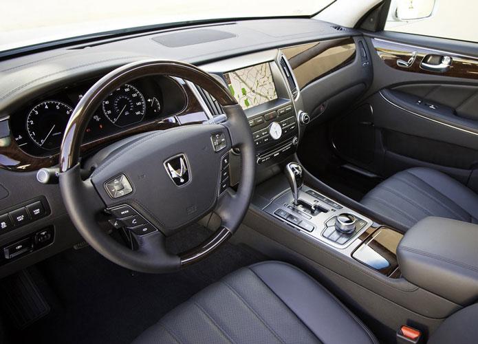 Hyundai Equus 2013 Lujoso Se 241 Orial Musculoso Y Elegante