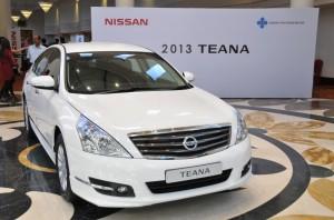Nissan Teana 2013: moderno, sofisticado y elegante.