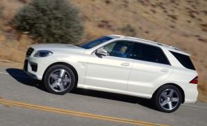 Mercedes-Benz Clase ML63 AMG 2013: moderna,  lujosa, segura, rendidora y muy divertida