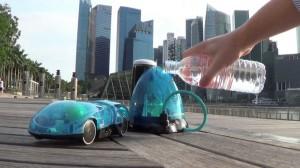 i-H2GO, un carro de radio control que funciona con agua, sol y un iPhone