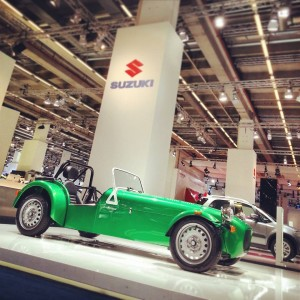 Salón de Frankfurt 2013: Caterham Seven 165.