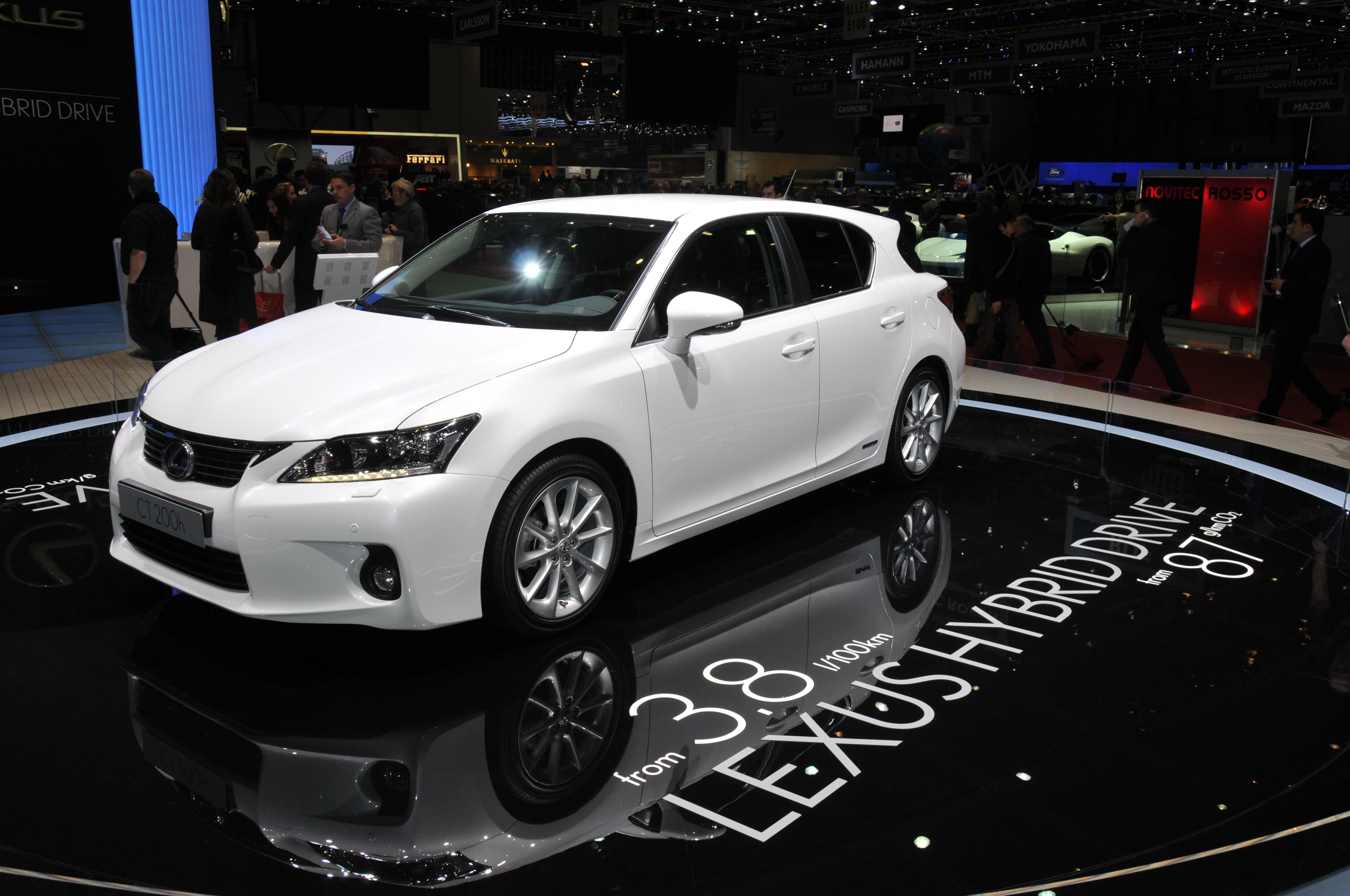 lexus ct 200h 2013 rendimiento alta calidad y lujo sin