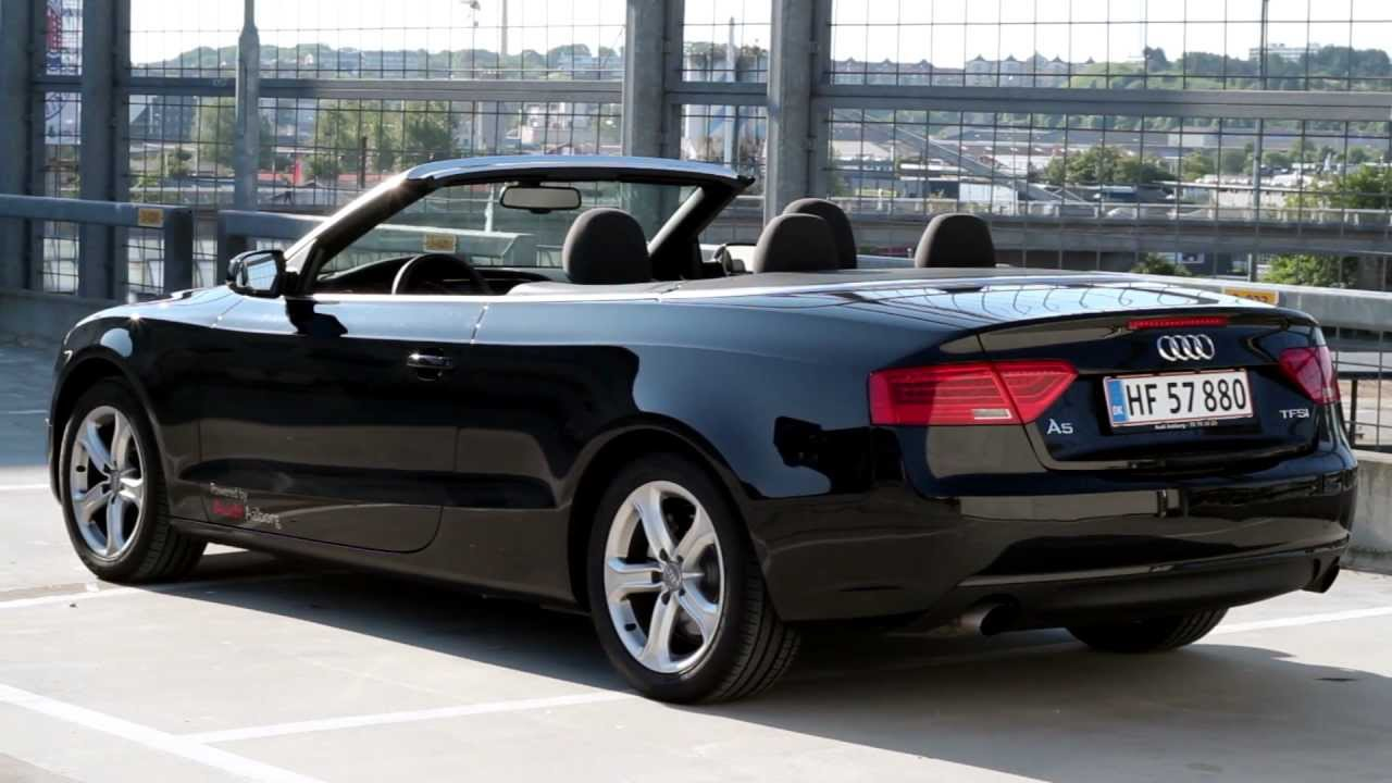 audi a5 cabriolet 2013 estilo refinamiento y exclusividad lista de carros. Black Bedroom Furniture Sets. Home Design Ideas