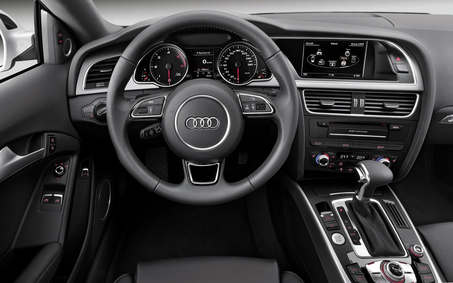 audi a5 coupe 2013 elegancia confort y refinamiento lista de carros. Black Bedroom Furniture Sets. Home Design Ideas