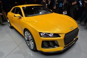 Audi Sport Quattro Concept: un carro deportivo hibrido con 700CV.