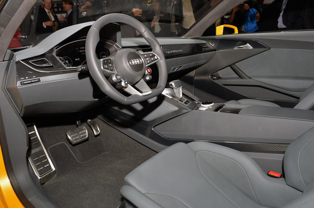 Audi Sport Quattro Concept: un carro deportivo hibrido con ...