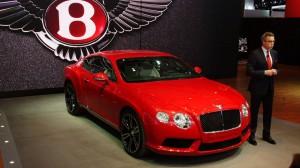 Bentley Continental GT 2013: más lujo y menor consumo.