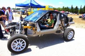 Korres Project 4: un carro para cualquier camino creado en Grecia.