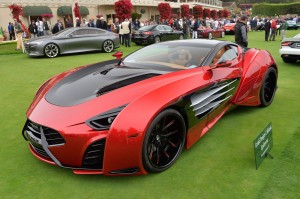 Laraki Motors Epitome Concept: raro, exclusivo, potente y costoso.