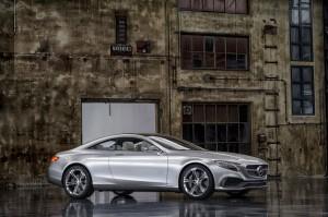Mercedes Benz Clase S Coupe Concept: el reemplazo del Clase CL.