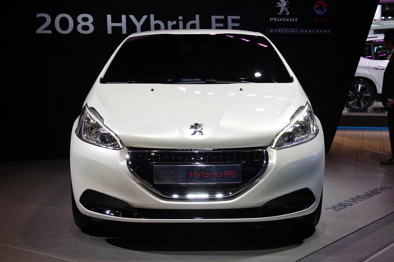peugeot 208 hybrid fe concept un hibrido muy interesante lista de carros. Black Bedroom Furniture Sets. Home Design Ideas