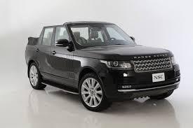 Range Rover NCE Convertible 2013: un Range Rover con capota plegable.