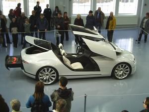 Saab Aero-X Concept: funcional, cómodo, eficiente y hermoso.