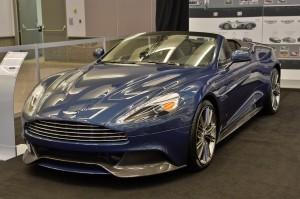 Salón de los Ángeles 2013:Aston Martin Vanquish Volante Neiman Marcus