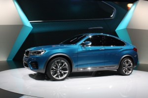 Salón de Los Ángeles 2013: BMW X4 Concept.