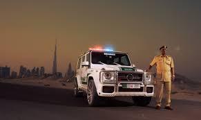 Brabus Mercedes-Benz G63 AMG Concept Policía de Dubái.